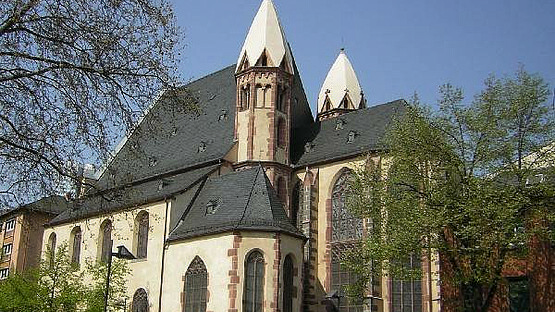 St Leonhard's Church Location